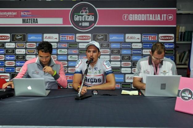 Quinta tappa giro d'Italia, conferenza stampa quinta tappa (4)