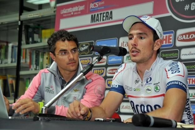 Conferenza Stampa Giro d'Italia 2013 quinta tappa
