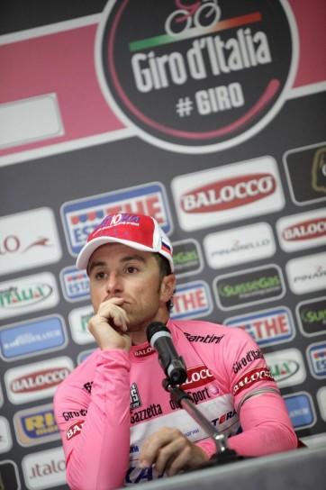 Giro d'Italia 2013, conferenza stampa quinta tappa (2)