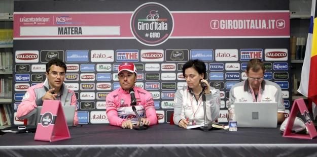 Giro d'Italia 2013, conferenza stampa quinta tappa (5)