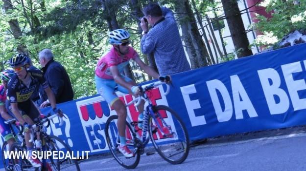 Vincenzo Nibali sul Montasio