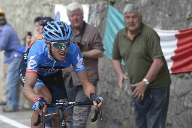Navardauskas, Giro d'Italia 2013 al Vajont