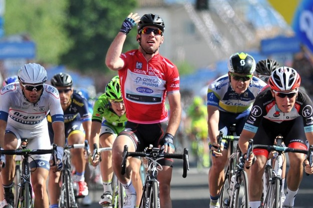 Giro d&#8217;Italia 2013: Cavendish poker a Cherasco