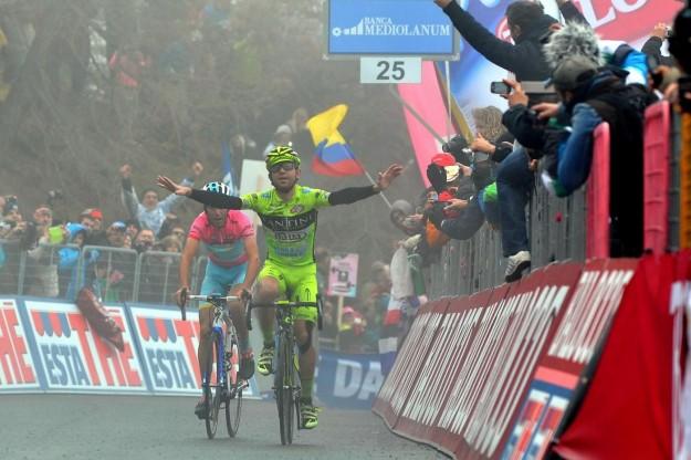 Giro d'Italia 2013, arrivo sullo Jafferau