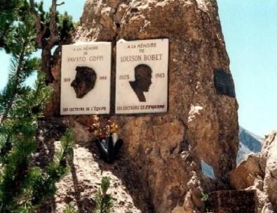 monumento coppi bobet izoard