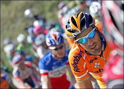 Denis Menchov sar al Giro 2009