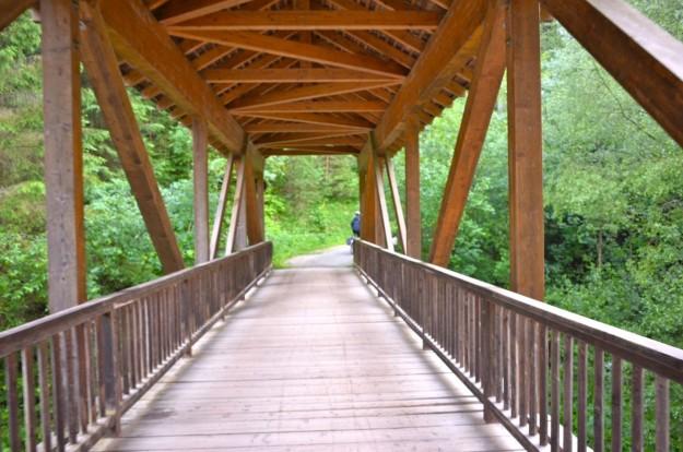 Attraverso il ponte coperto