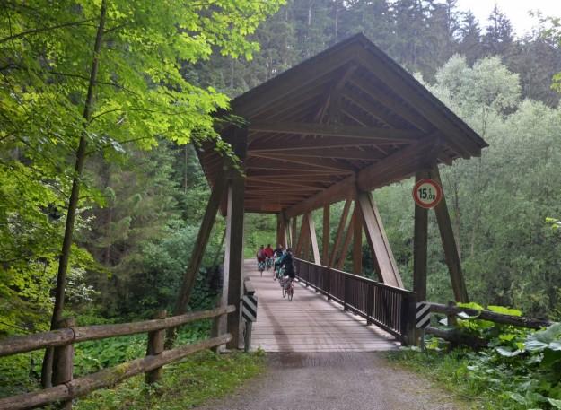 Passaggio su ponte coperto