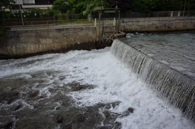 Cascatella del fiume
