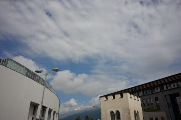 Cielo su Brunico