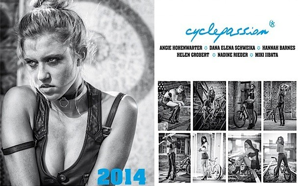 Calendario Cyclepassion 2014: le cicliste più belle [FOTO]