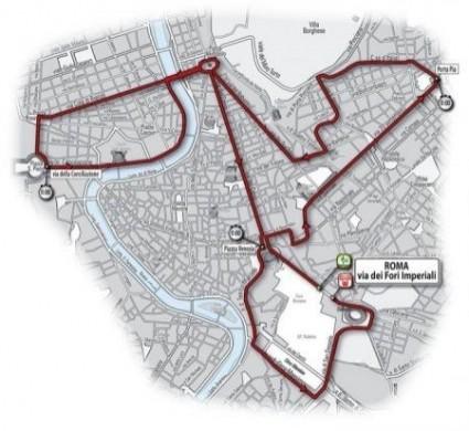 Cronometro Roma Giro 2009