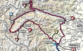 Giro 2009: la Cuneo-Pinerolo non sconfinerà in Francia