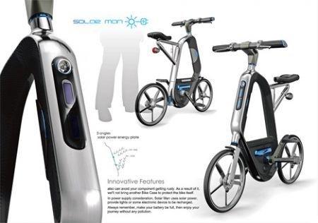Bicicletta solare Solar Man