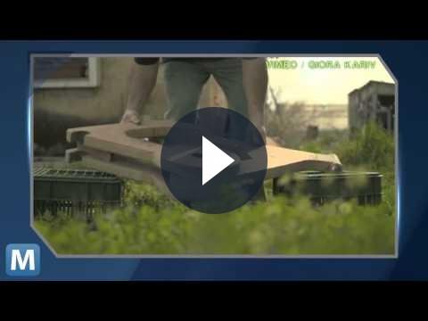 Bicicletta in cartone da 7 euro, perfettamente funzionante [VIDEO]